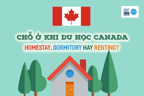 Chỗ ở khi đi du học Canada – Homestay, Dormitory hay Renting?