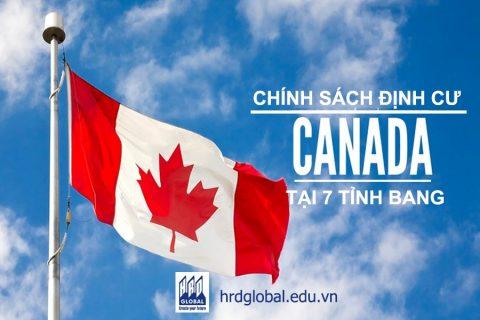 Chính sách định cư Canada sau du học tại 7 tỉnh bang lớn