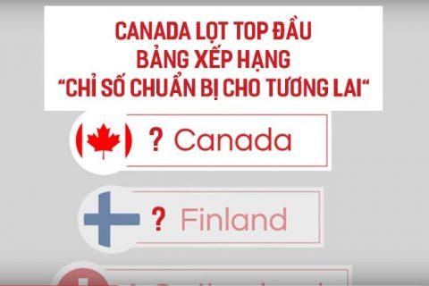 """Canada lọt TOP đầu bảng xếp hạng """"Chỉ số chuẩn bị cho tương lai"""" 2018"""