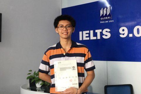 Chia sẻ của chàng trai đạt 8.0 IELTS chỉ sau 2 tháng học tại IELTS 9.0