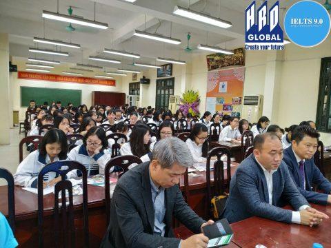 Hội thảo du học Canada tại trường THPT Thăng Long, Hà Nội