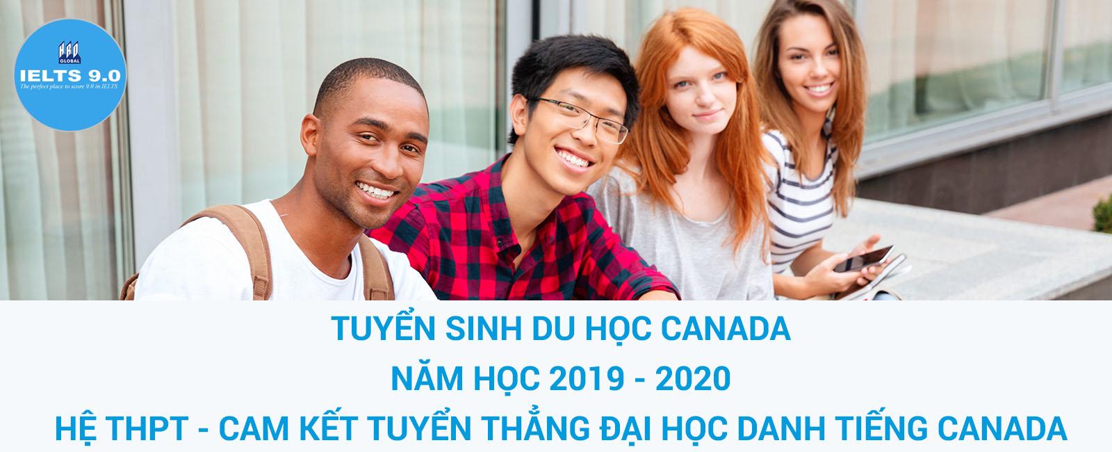 Tuyển sinh du hoc Canada năm học 2019 - 2020 trường THPT UTPA