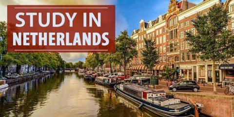 Học Bổng Toàn Phần Du Học Hà Lan 2021